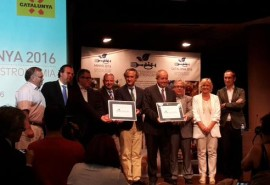 Catalonia and Minho receive the title European Region of Gastronomy 2016