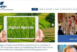New Website for the European Region of Gastronomy Platform and Award