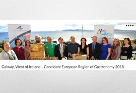 Galway, West of Ireland launches Candidate, European Region of Gastronomy 2018 website