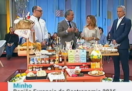 Minho, European Region of Gastronomy 2016 on TV1 Portugal