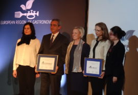 South Aegean and Sibiu awarded European Region of Gastronomy 2019