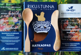 Kuopio region highlighted in national Finnish travel guide