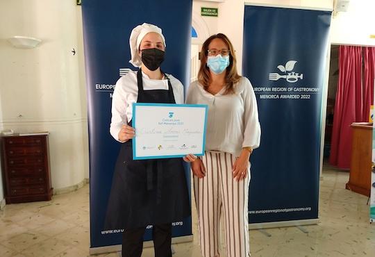 Menorca announces finalist to the European Young Chef Award 2021