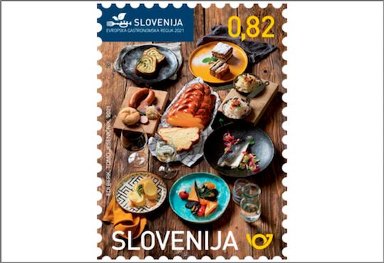 Slovenia 2021 issues commemorative postage stamp