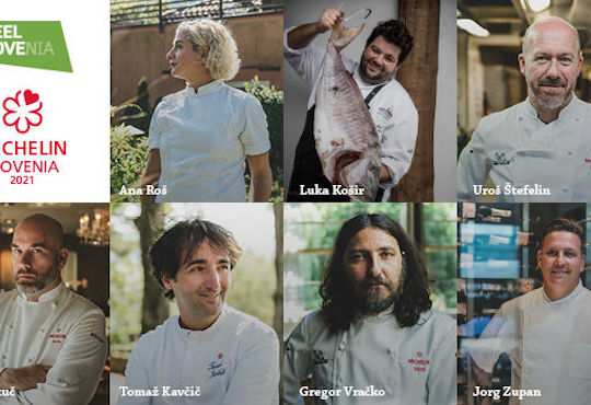 The Slovenia MICHELIN Guide 2021 crowns a new star